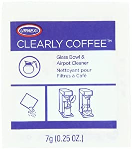 Urnex Clearly Coffee Powder, 125 - 1/4 oz packets from Urnex