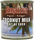 Amaizin Organic Rich Coconut Milk 200 ml (Pack of 12)