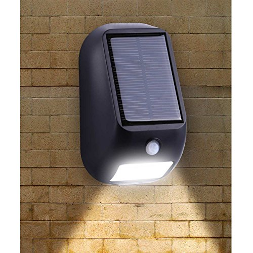 le solar lights led motion sensor light waterproof solar or batteries powered wireless. Black Bedroom Furniture Sets. Home Design Ideas