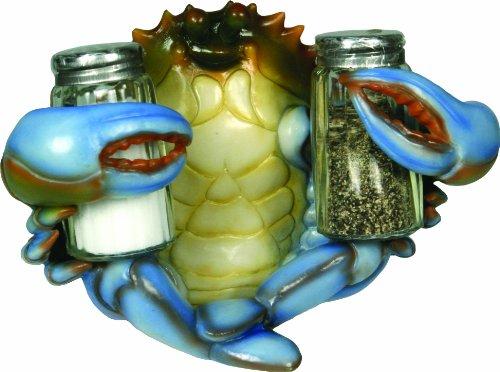 River's Edge Salt and Pepper Shaker Holder (Blue Crab)