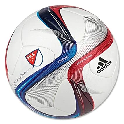 CLICK HERE TO VIEW CURRENT PRICING: Adidas 2015 MLS Nativo Official Match Soccer Ball