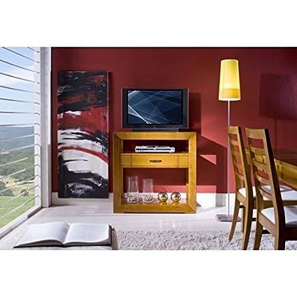 Mueble consola Puerta TV 1Cajón Madera maciza Varios colores–como fotos