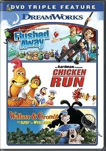Flushed Away Chicken Run Wallace Amp Gromit Dvd
