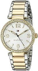 Tommy Hilfiger Women's 1781599 Two-Tone Steel Watch