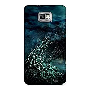Enticing Horror Tree Multicolor Back Case Cover for Galaxy S2