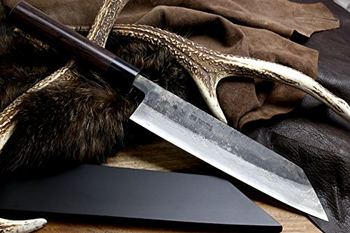 yoshihiro-mizu-yaki-blue-high-carbon-steel-black-damascus-kiritsuke-japanese-multipurpose-chef-knife