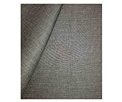 Grasim Men's Synthetic 3M Grey Suit Fabric
