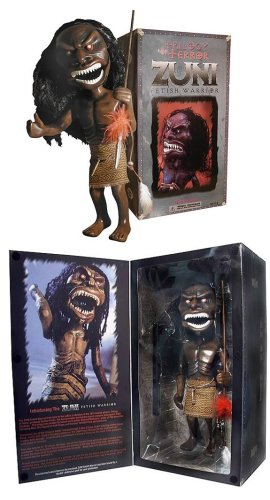Trilogy   of Terror Zuni Fetish Warrior Movie Replica