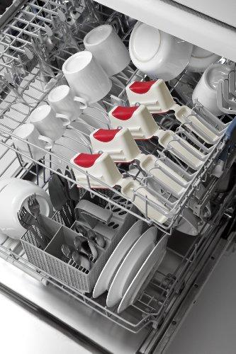 Lékué 3600104R14M033 Portion Saver Polypropylène Blanc 4 x 100 ml