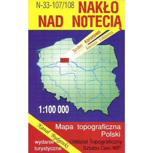 Naklo nad Notecia Region Map