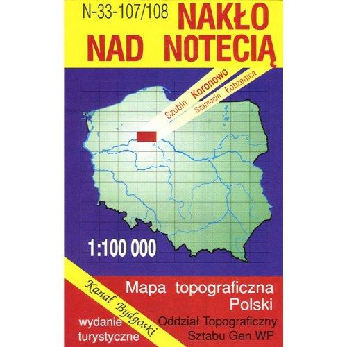 Naklo nad Notecia Region Map