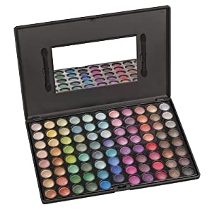 Coastal Scents 88 Eye Shadow Palette, Ultra Shimmer