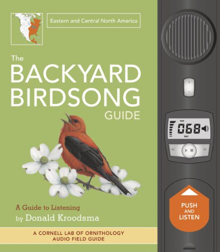Chronicle Books Backyard Bird Songs Guide East/Central Coast