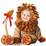 InCharacter Costumes Baby s Lil Lion Costume, Brown, Small (6-12 Months)