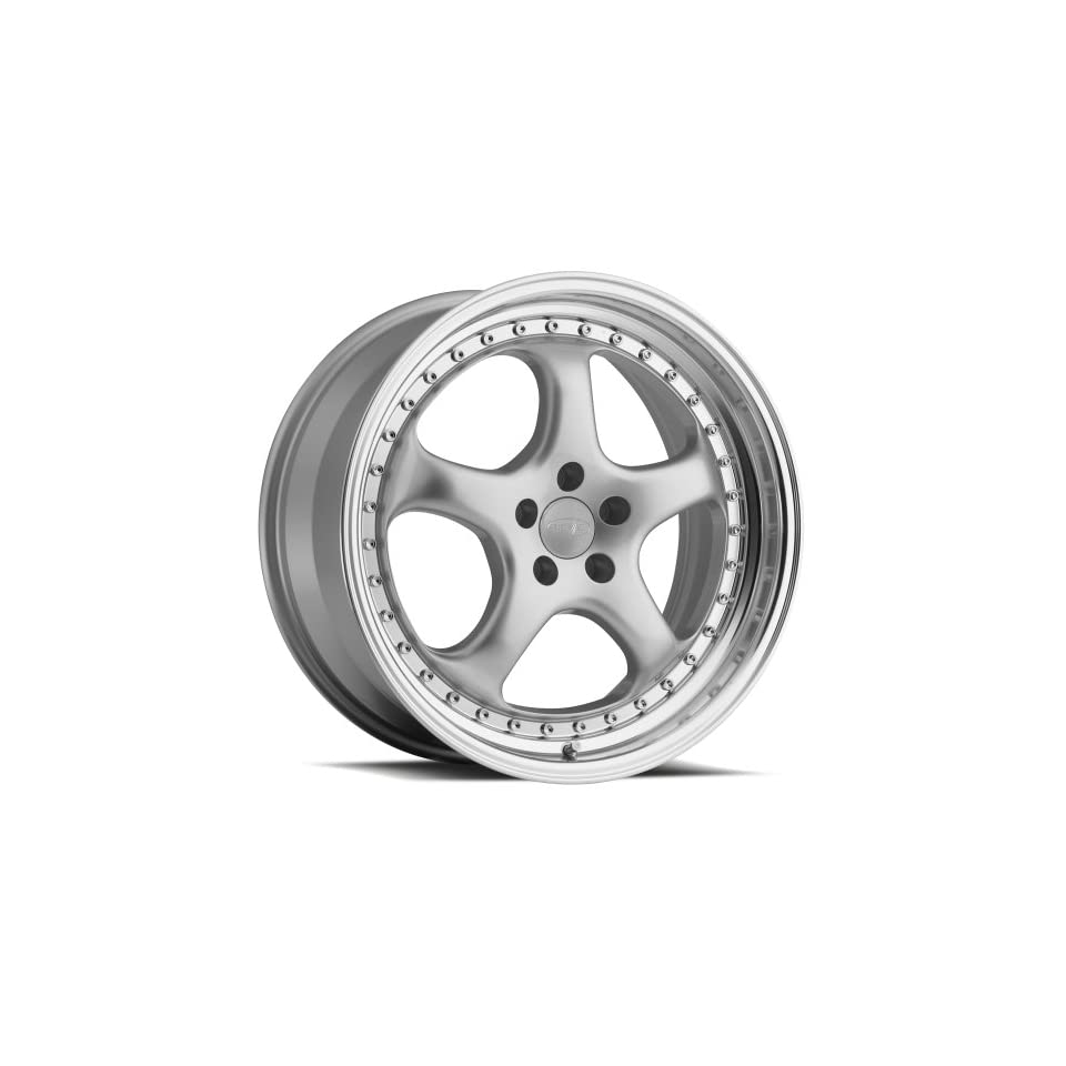 Privat KUP Silver Wheel with Machined Lip (18x9.5/5x112mm, +30mm offset)