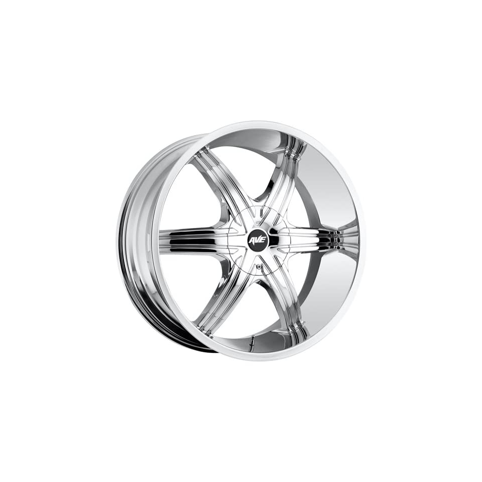 Avenue A606 18 Chrome Wheel / Rim 5x110 & 5x115 with a 40mm Offset and a 73.00 Hub Bore. Partnumber A606 1875003140C