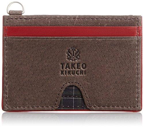 [タケオキクチ] TAKEO KIKUCHI レベッカ パスケース 兼 コインケース 702601 BLK (クロ)