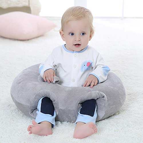 Buy Bargain Topsleepy New Design Baby Sitting Chair Nursery Pillow Protectors for 3-16 Months (Grey)