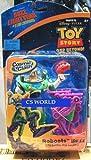 Disney Pixar Buzz Lightyear of Star Command - Cosmic Clash Roboots Buzz - Made by Mattel in 2001