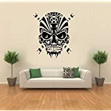 Hoopoe Decor Ghost On The Wall Wall Stickers And Decals - B00XEVVGW8
