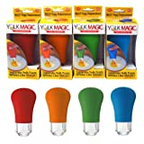 YOLK MAGIC Egg Separator | As Seen On TV (Assorted Colors)