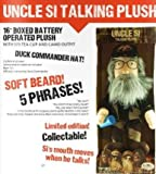 """Duck Dynasty Uncle Si 16"""" Talking Plush Limited Collectible Edition (5 Phrases)"""