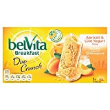 Belvita Duo Crunch Apricot and Live Yogurt (Pack of 40)