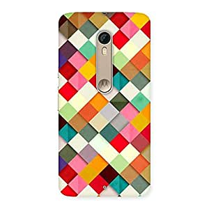 Cute Color Ribbons Back Case Cover for Motorola Moto X Style