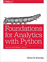 Foundations for Analytics with Python Front Cover