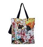 YOLO Fashionista MagazinePrintPolyester Fashion Tote Bags