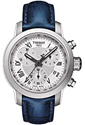 Tissot PRC 200 Chronograph Silver Dial Stainless Steel Ladies Watch T0552171603300