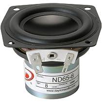 Dayton Audio ND65-8  6.5cm フルレンジ 8Ω PS-SFR-042