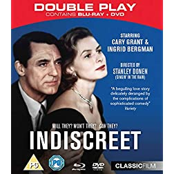 Indiscreet Dual Format [Blu-ray]