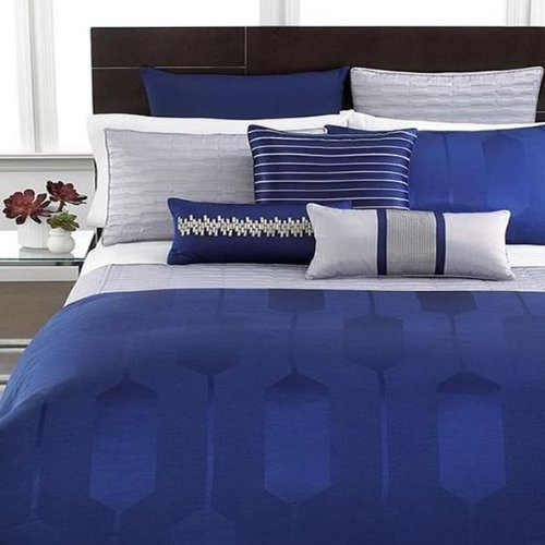 Discover Bargain Hotel Collection Links Cobalt Blue KING Bedskirt