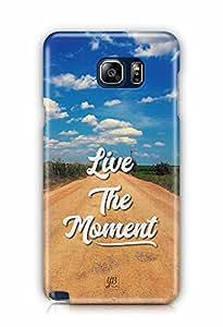 YuBingo Live the Moment Designer Mobile Case Back Cover for Samsung Galaxy Note 5