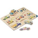 Ravensburger 03602 Per strada- Puzzle in legno da 10 pezzi