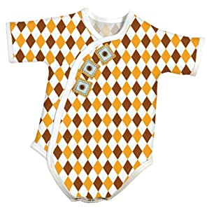 Stephan Baby All-in-One Diaper Cover, Newborn Argyle Print
