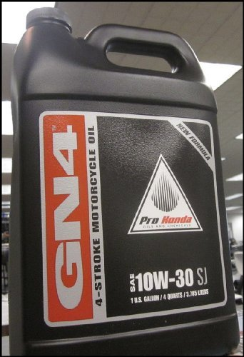 Honda GN4 10W-30 Motorcycle Oil - Gallon (Honda Cycle compare prices)