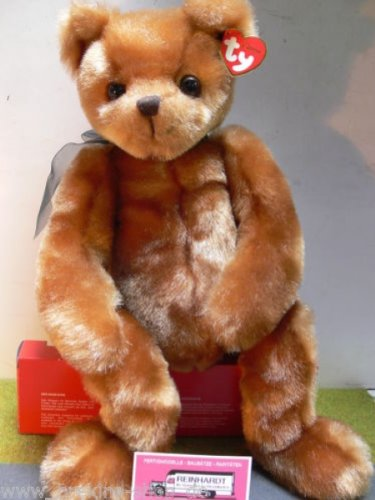 TY Classic Ginger Brown Bear - Yesterbear [Toy] - 1