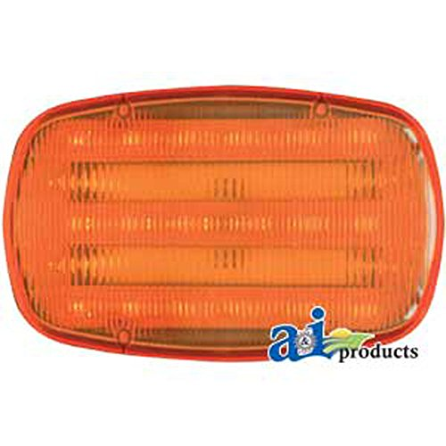 Hf18A Magnetic Led Safety Flasher Warning Tail Tow Light W Batteries & Double Magnet For Trailers Tractors Combines Farm Equipment
