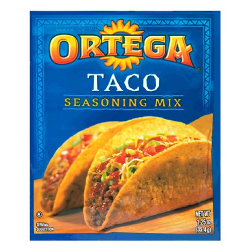taco seasoning mix 1 25 ounce packets pack of 24 ortega taco seasoning ...