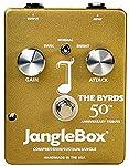 Janglebox The Byrds 50th Anniversary Gold Jangle Box Compressor Pedal by Janglebox