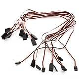 NEEWER® 10pcs 300mm 20inch Servo Extension Cable Lead Futaba JR Fre