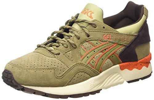 ASICS Gel-lyte V, Unisex-Erwachsene Sneakers, Grün (light Olive/light Olive 8585), 42.5 EU thumbnail