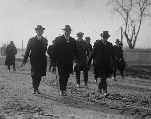1922 photo Harding hiking