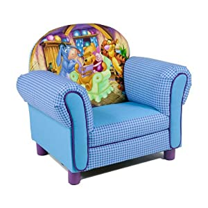 Winnie The Pooh Kids Upholstered Arm Chair Baby
