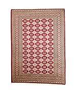 QURAMA Alfombra Kashmir Rojo/Multicolor 245 x 159 cm
