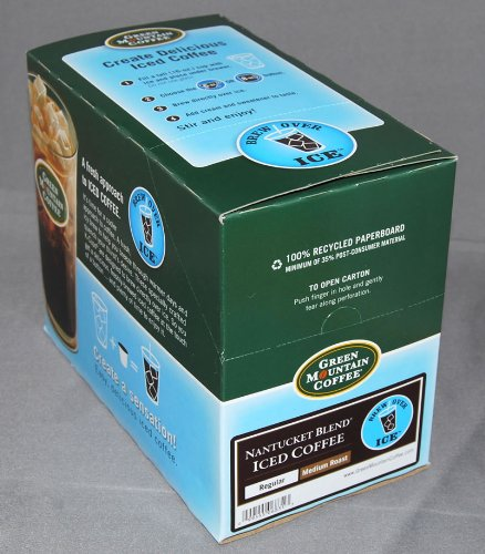 Green Mountain Nantucket Blend Iced Coffee 44 K-Cups For Keurig Brewers