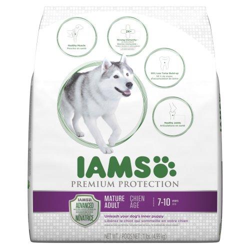 Iams Premium Protection Mature Adult Dry Dog Food, 11-Pound