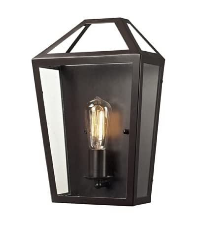 Artistic Lighting Alanna Collection 1-Light Sconce, Oil Rubbed Bronze